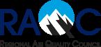 Regional Air Quality Council logo.